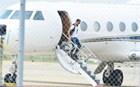Ανώμαλη προσγείωση για το αεροπλάνο του Ρονάλντο