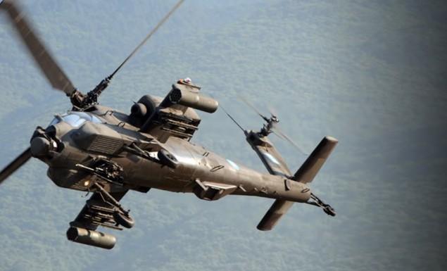 Ελικόπτερο Απάτσι κατέπεσε ανατολικά της Χαλκιδικής