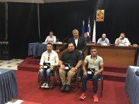 Ο Δήμαρχος Γ. Πατούλης και το Δ. Σ. του Δήμου Αμαρουσίου τίμησε τους τρείς Παραολυμπιονίκες, αθλητές του ΑΣΚΑ Αμαρουσίου