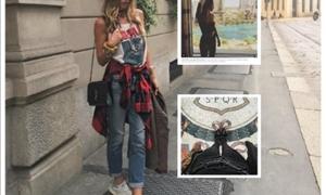 Αθηνά Οικονομάκου: Τρελαίνει το Instagram με τις φωτογραφίες της-Το Σαββατοκύριακο στο Μιλάνο