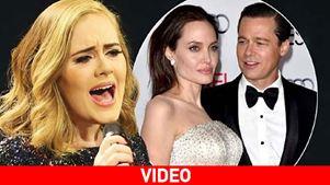Adele για Brangelina: «Δεν με νοιάζει που χώρισαν. Δεν μου καίγεται καρφί»