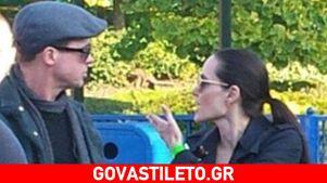 Angelina Jolie - Brad Pitt: Ο καβγάς τους σε πάρκο μπροστά στα παιδιά τους!