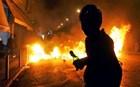 Τραυματίστηκε αστυνομικός από μολότωφ στην Πατησίων