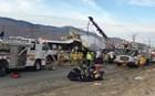 Αιματηρή σύγκρουση λεωφορείου με νταλίκα – 13 νεκροί και 31 τραυματίες