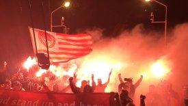 Πήρε… φωτιά για τον Ολυμπιακό η Λευκάδα! (pics)