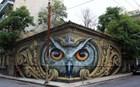 Το εντυπωσιακό γκράφιτι στο κέντρο της Αθήνας που εντυπωσιάζει το κοινό