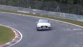 Το νέο Audi RS5 ξεμουδιάζει στο Νίρμπουργκρινγκ (video)