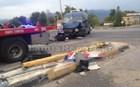 Τροχαίο: Σφοδρή σύγκρουση βαν με φορτηγό