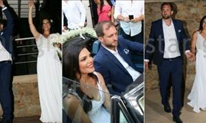 Μαρίνα Ασλάνογλου: Η αδημοσίευτη ΦΩΤΟ από το γάμο της!