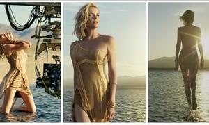 Ζαλίζει ξανά η Σαρλίζ Θερόν: Περπατά στο νερό στη νέα καμπάνια του Dior και είναι εκθαμβωτική