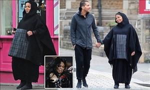 Τζάνετ Τζάκσον: ΒΓΗΚΕ στο Λονδίνο με μπούρκα και σε προχωρημένη εγκυμοσύνη!