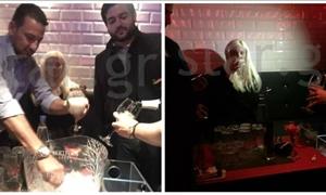 ΑΠΟΚΛΕΙΣΤΙΚA στο star.gr: Η Τζούλια Αλεξανδράτου πίνει σαμπάνιες στο Κολωνάκι