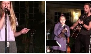 «Το πήρα από τον μπαμπά μου» – Τα παιδιά της Γκουίνεθ Πάλτοου έχουν ταλέντο στο τραγούδι