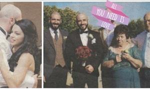 ΦΩΤΟ: Έλληνας τραγουδιστής πάντρεψε τον αδελφό του- Έπιασε το μικρόφωνο και έγινε χαμός!