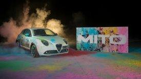 H Alfa Romeo MiTo ζωγραφίζει (video)