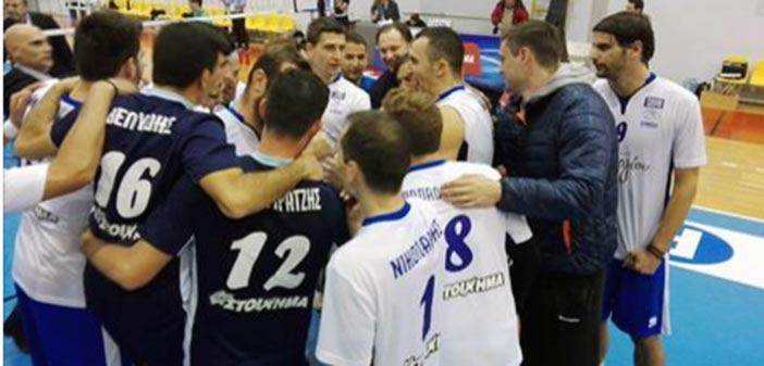 Α.Ο.Π. Κηφισιάς- Α.Π.Σ. Κύζικου 3-1 για τη Volley League.