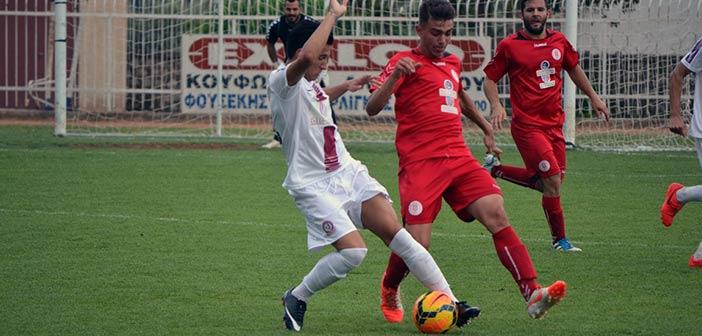 Πανερυθραικός- Άρης Πετρούπολης 2-0.