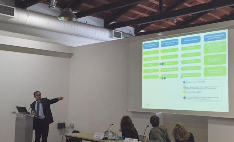 Παρουσία-ομιλία  του Νίκου Χιωτάκη στο Διήμερο Ενέργειας του ΤΕΕ.