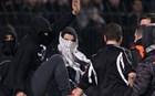 Άγριες συμπλοκές από οπαδούς του ΠΑΟΚ στο Μενίδι