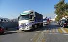 Πορεία φορτηγατζήδων στη Λέσβο για τους μετανάστες