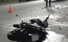 Τέμπη: Τροχαίο με νεκρό μοτοσικλετιστή