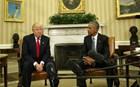 Τι είπαν στην πρώτη τους συνάντηση στον Λευκό Οίκο Ομπάμα και Τραμπ