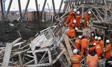 Τουλάχιστον 40 νεκροί από κατάρρευση πλατφόρμας σε εργοτάξιο στην Κίνα