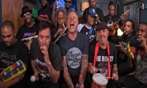 Πιο κόντρα ρόλο δεν έχει! ΔΕΙΤΕ τους Metallica με... καραμούζες και παιδικά μουσικά όργανα!