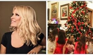 Η Μενεγάκη στόλισε και… έριξε το Instagram! Οι φωτό με τα παιδιά της και η αγκαλιά με τον Ματέο