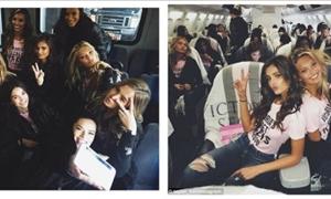 Στα ουράνια με τα «αγγελάκια» – ΔΕΙΤΕ τι έγινε στο αεροπλάνο της Victoria Secret!