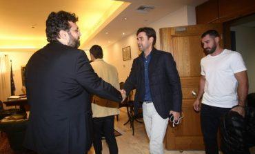 H συνάντηση της ομάδας του Euro 2004 με τον Υφυπουργό (pics)