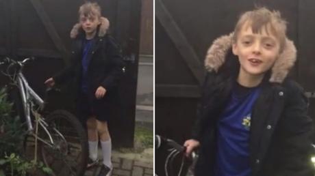 Ληστές επέστρεψαν σε 9χρονο το ποδήλατο του
