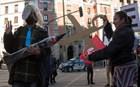 Μεγάλη διαδήλωση στη Μαδρίτη κατά της πολιτικής λιτότητας του Ραχόι