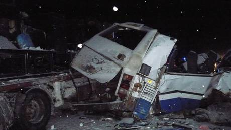 Ρωσία: 11 νεκροί σε σύγκρουση οχημάτων – Ανάμεσά τους 9 παιδιά