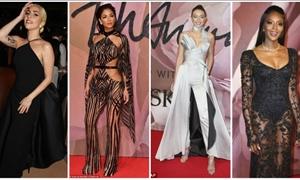 British Fashion Awards: ΔΕΙΤΕ τι φόρεσαν στο κόκκινο χαλί-Μοντέλο της χρονιάς η Τζίτζι Χαντίντ