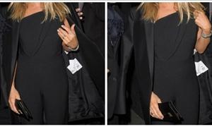 Δεν φαντάζεστε ποια ηθοποιός βγήκε έξω και ξέχασε να βγάλει το καρτελάκι από τα ρούχα της!