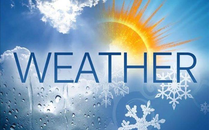 Ο καιρός σήμερα 31 Δεκεμβρίου