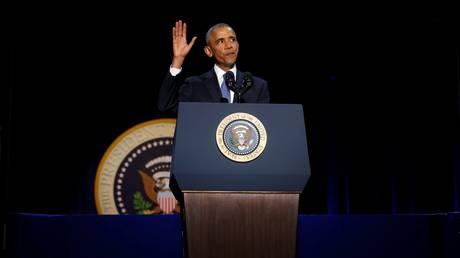 Μήνυμα για τη Δημοκρατία στο «αντίο» του συγκινημένου Ομπάμα (vis&pics)