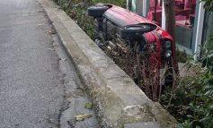 Ατύχημα λόγο ολισθηρότητας. Κηφισιά 8 Ιανουαρίου
