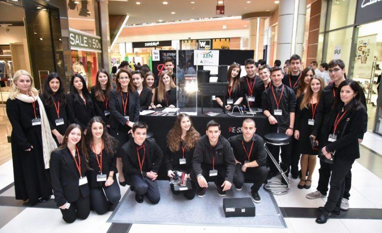 «Με μεγάλη επιτυχία πραγματοποιήθηκε η 11η Εμπορική Έκθεση Μαθητικής Καινοτομίας και Επιχειρηματικότητας στο Τhe Mall Athens»