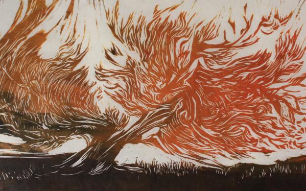Χώρος Τέχνης ΙΣΟΓΕΙΟ Έκθεση ζωγραφικής-χαρακτικής  «Το αειθαλές». Εγκαίνια απόψε 10 Μαρτίου.