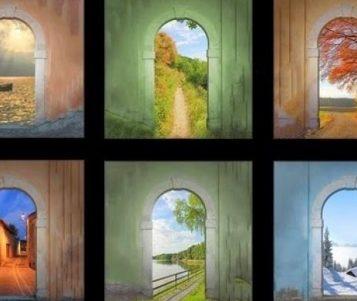 Η Πόρτα που θα διαλέξεις σου λέει το μέλλον. Τόσο ακριβές όσο και τρομακτικό.