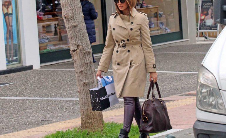 Η Σταματίνα Τσιμτσιλή βγήκε για shooping στην Κηφισιά