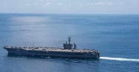 Αμερικανικό μαχητικό συνετρίβη την ώρα της προσγείωσης στο αεροπλανοφόρο Carl Vinson