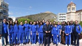 Ευχές και συμβουλές από τον Δήμαρχο Άργους στην Εθνική Παγκορασίδων