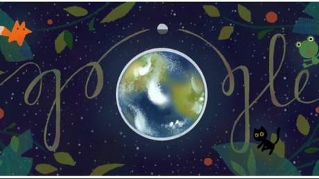 Η «Ημέρα Της Γης» έγινε Google Doodle (pics)
