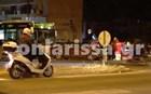 Καραμπόλα λεωφορείου με δύο αυτοκίνητα στη Λάρισα – 4 τραυματίες