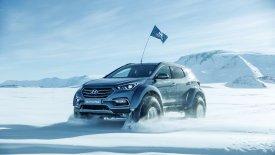 Hyundai Santa Fe, ο κατακτητής της Ανταρκτικής