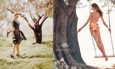 Ο οίκος Hermès, οι ελιές της Αίγινας και η Ζουλί Γκαγιέ (του Ολάντ)