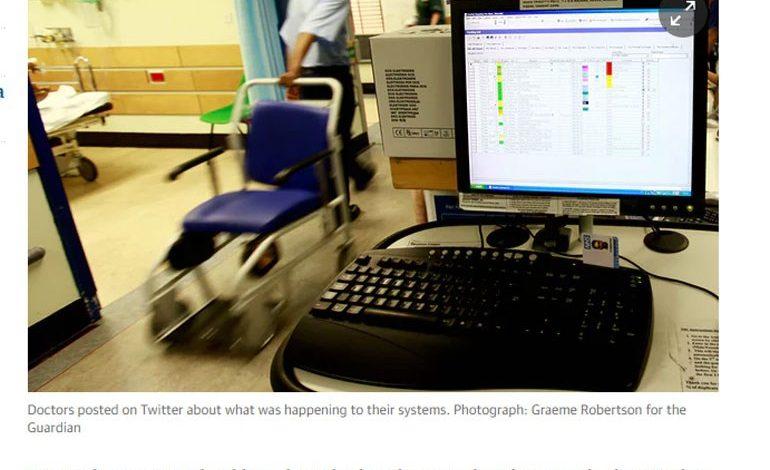 Γιγαντιαία cyber επίθεση στο Βρετανικό Ε.Σ.Υ.